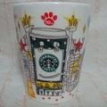 2010 日本涉谷十周年馬克杯 12oz