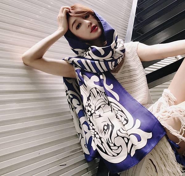 圍巾款式 @amarylliss。艾瑪[隨處走走]