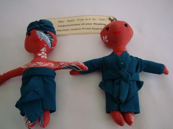 kayumanis送的娃娃