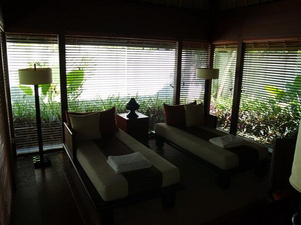 可以在villa做spa