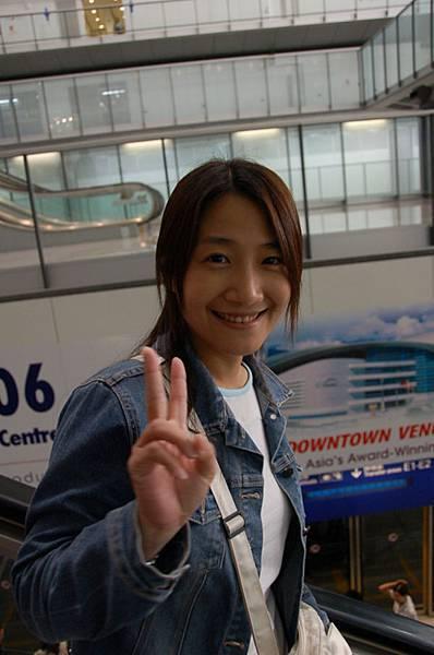 香港機場到了