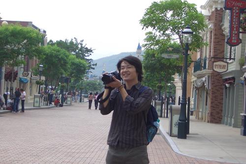發現一個好帥ㄉ攝影師