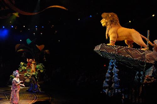 獅子終於出現ㄌ