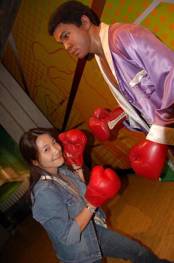 我與拳王一較高下