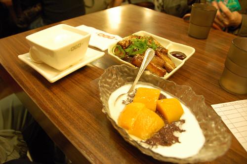 在杏花樓吃宵夜 (都很好吃喔!)