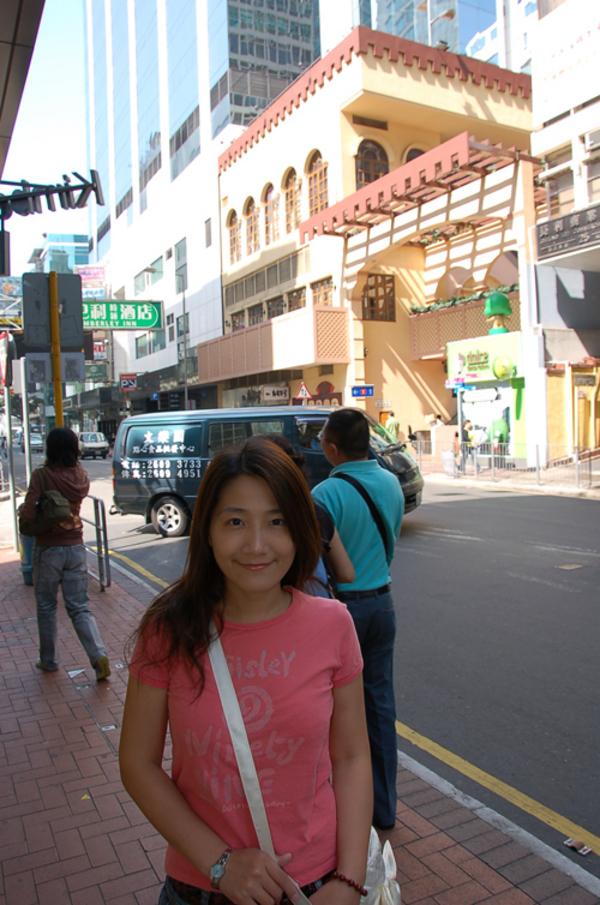 準備第三天的行程(香港街道)