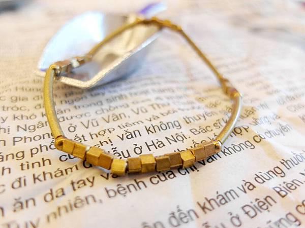 ❤~堆砌~❤ 簡約黃銅手環~