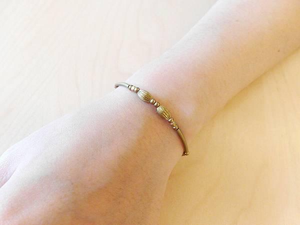 ❤~荟萃~❤ 簡約黃銅手環~