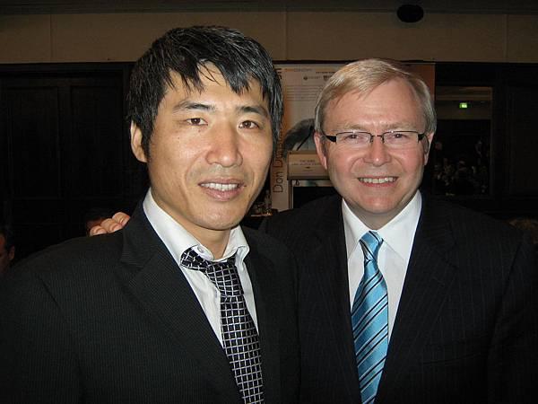 澳洲總理合照~~好酷!
