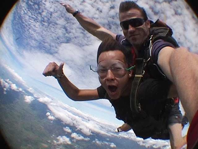 Kenneth Sky Diving