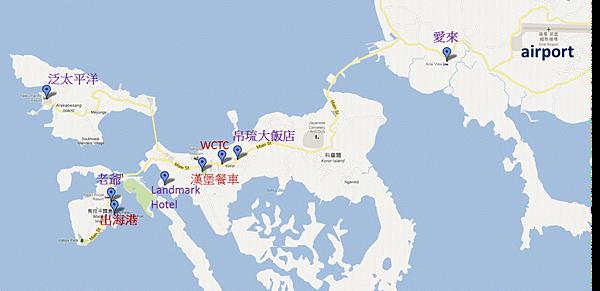 Palau map