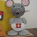 老鼠包尿布筆筒