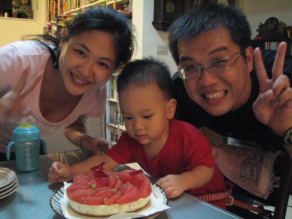 是好人送林娘的生日蛋糕