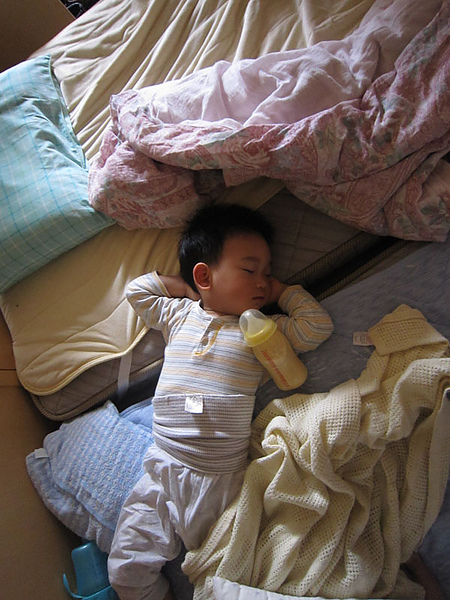 吃了撐著睡覺好!