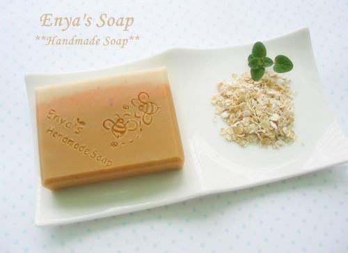 蜂蜜燕麥馬賽皂