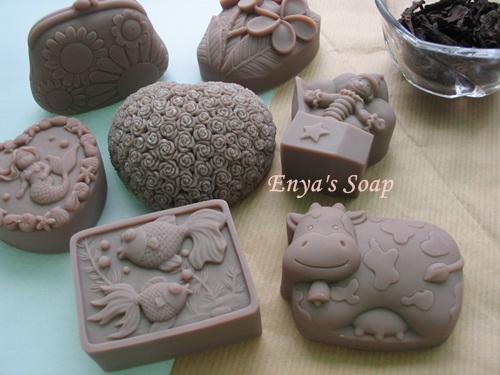 洋甘菊紫草baby皂