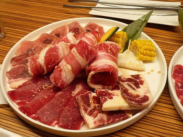 原燒牛肉拼盤