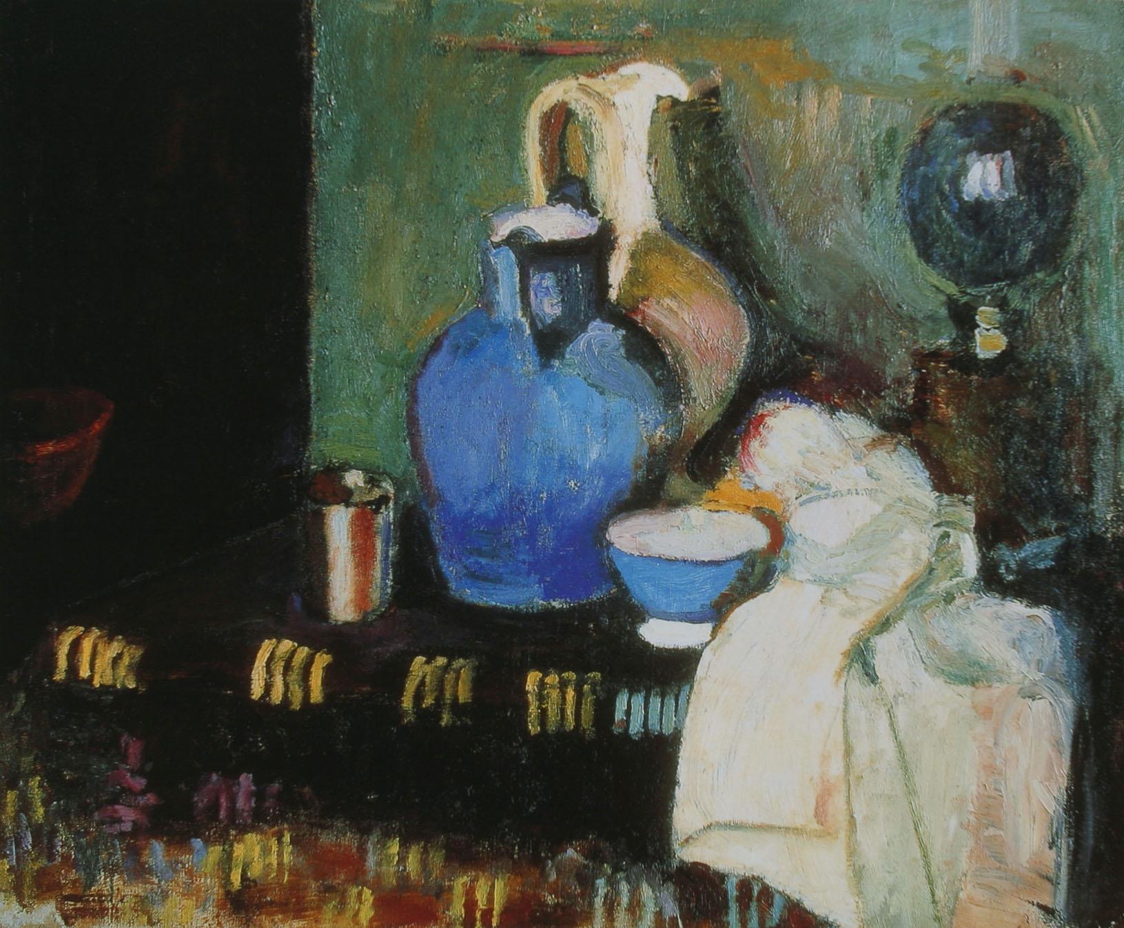 馬諦斯_1900約_藍色的水壺.JPG