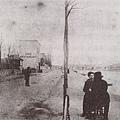 Van Gogh_1886_Vincent和E. Bernard在Asnieres談話的背影_(0023.126a).JPG