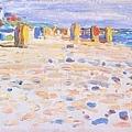 Kandinsky_1904_荷蘭海邊的帳篷_24x32.6cm._(0062.20a.ppt).JPG