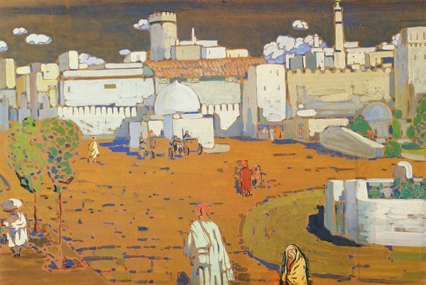 Kandinsky_1905_阿拉伯城鎮_67.3x99.5cm_(0062.47a.ppt).JPG