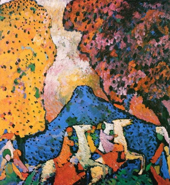 Kandinsky_1909_藍山_106x96cm_(0062.53a.ppt).JPG