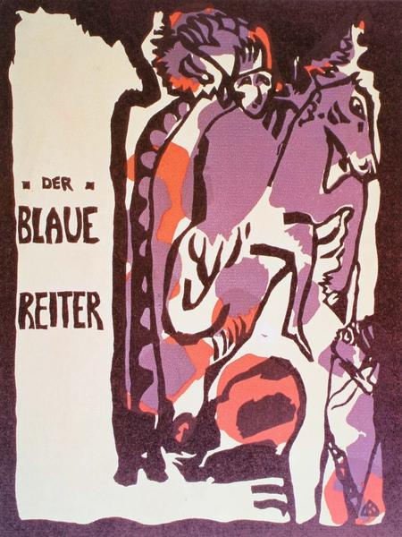 Kandinsky_1911_為藍騎士雜誌所作的封面_27.9x21.9cm._(0062.25a.ppt).JPG
