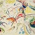 Kandinsky_1913_為小樂趣所作的習作_23.8x31.5cm._(0062.81a.ppt).JPG