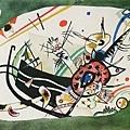 Kandinsky_1920_為綠色的邊界所作的習作_26.9x36.3cm._(0062.91a.ppt).JPG