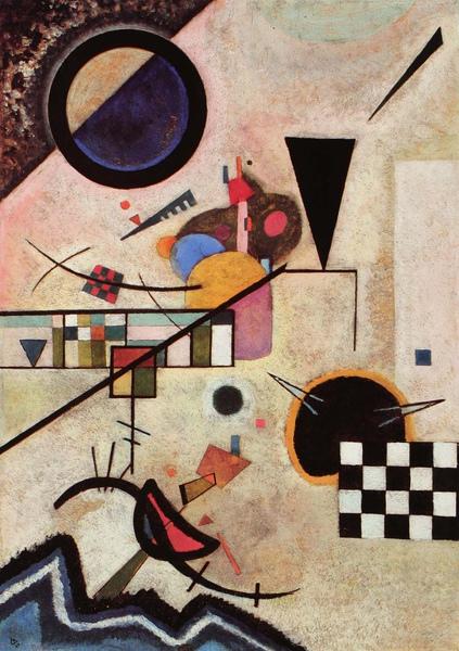 Kandinsky_1924_對比鮮明的聲音_70x49.5cm._(0062.109a.ppt).JPG