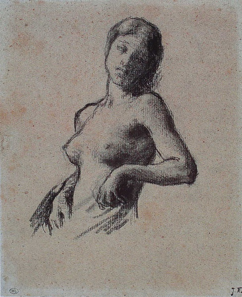 Millet_1847-50c._Bust of a female nude_(0016.3b).JPG
