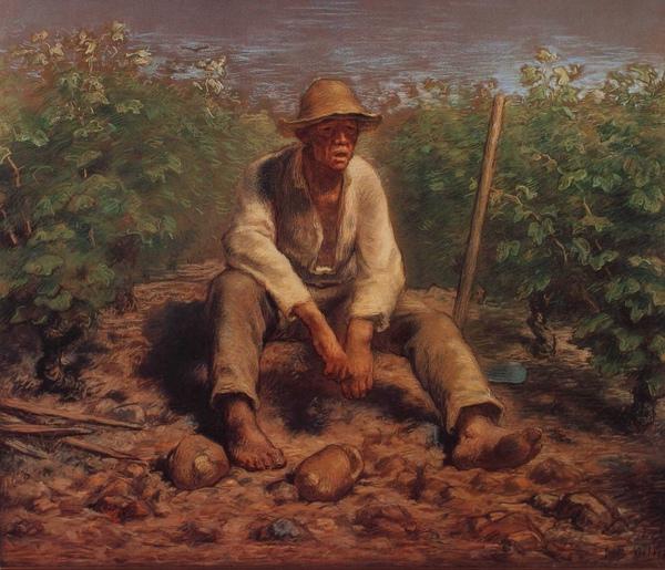Millet_1870c._Vineyard laborer resting_(0016.119a).JPG