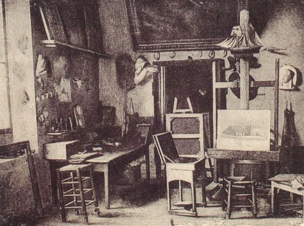 Millet_1875_米勒死亡後的畫室.JPG