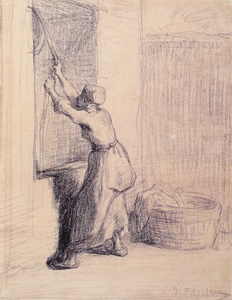Millet_c.1848-49_Woman drawing water from a well_(0016.8b).JPG