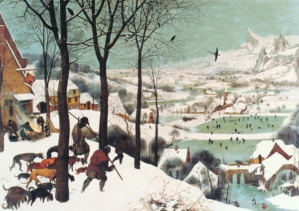 Pieter Bruegel the Elder_1565_Hunters in Snow_117x162cm.JPG