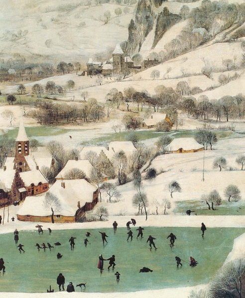 Pieter Bruegel the Elder_1565_Hunters in Snow_detail(5).JPG