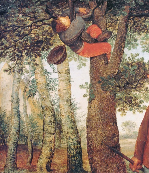 Pieter Bruegel the Elder_1568_Peasant and the  Nest Robber_detail(2).JPG