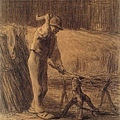 Millet_c.1853-54_Woodcutter making a faggot_(0016.37b).JPG