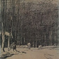 Millet_c.1853_Entrance to the forest at Barbizon in winter_(0016.20b).JPG