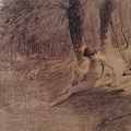 Millet_c.1854-55_Study for Goose girl bathing_(0016.32b).JPG