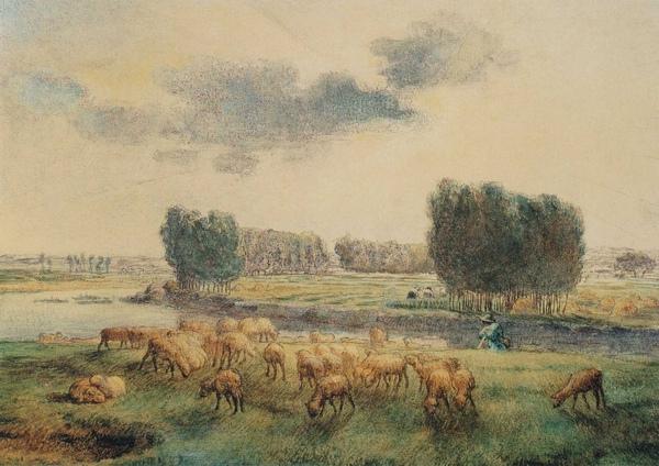 Millet_c.1855-56_Landscape with sheep_(0016.35b).JPG