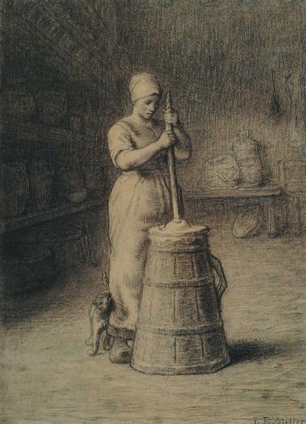 Millet_c.1855-1858_Woman churning butter_(0016.46b).JPG