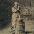 Millet_c.1855-1858_Woman churning butter_(0016.46b).JPG