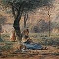 Millet_c.1860_In the garden_(0016.53b).JPG