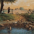 Millet_c.1865-68_Peasan children at a goose pond_(0016.109a).JPG