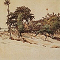 Millet_c.1866-67_House beside the road surrounded by trees_(0016.106a).JPG