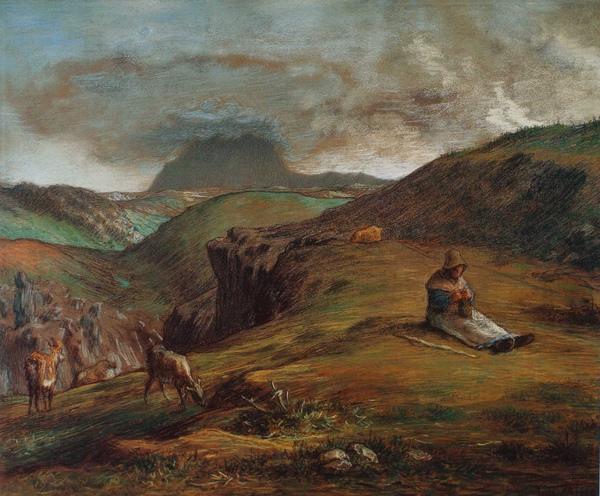 Millet_c.1866-68_Le puy du dome_(0016.113a).JPG