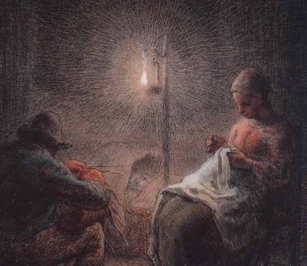 Millet_c.1867_Winter evening_detail_(0016.27a).JPG