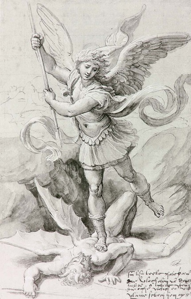 Raphael School_1518_Saint Michael_41.6x27.6cm.JPG
