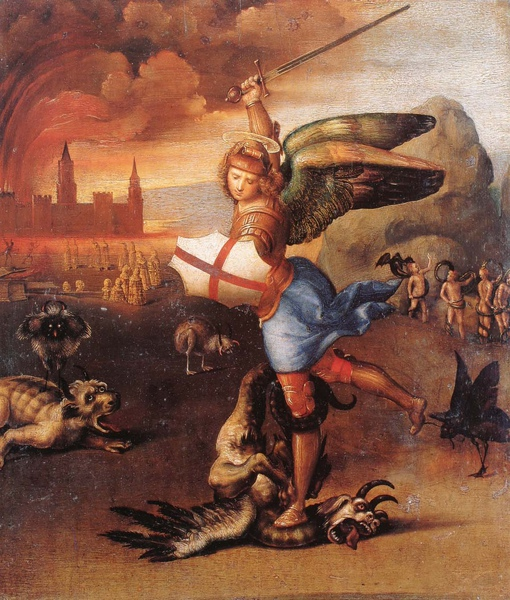 Raphael_1504_Saint Michael and the Devil_31x27cm.jpg